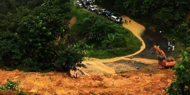 Jalan Lintas Riau – Sumbar Banjir,Ini Himbauan Kasatlantas Kampar
