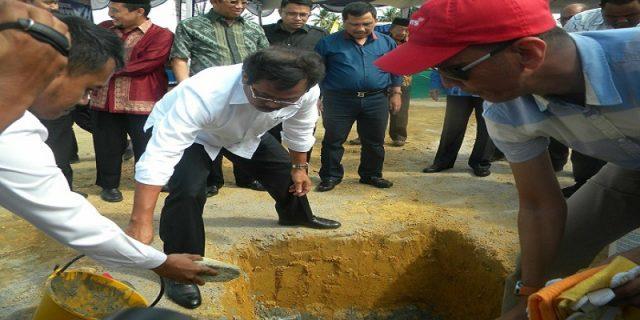 Pembangunan SMAN 5 Karimun Dengan Nilai Anggaran Rp28 Miliar