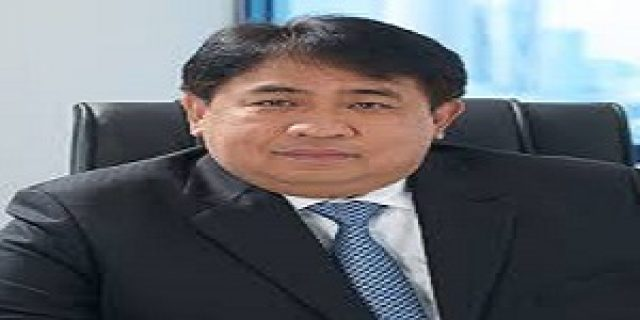 Dirut PT Timah Tbk yang Baru Temui Bupati Karimun Aunur Rafiq.