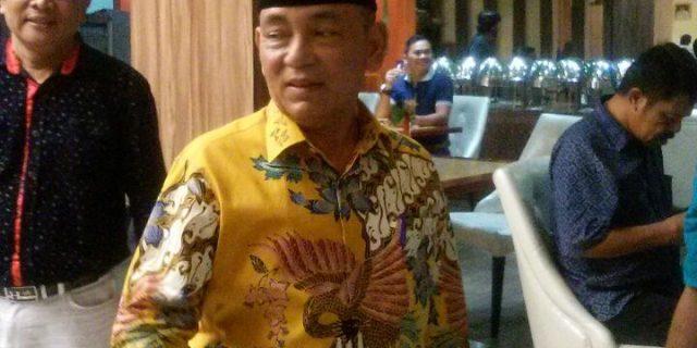 Bupati Pelalawan H.M Harris Silahturahmi Bersama Masyarakat Pelalawan Di Kota Sagu