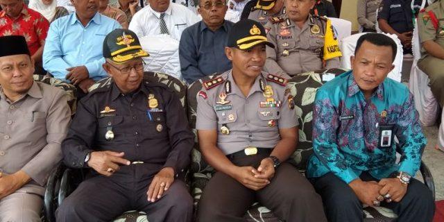 "Kapolres Meranti Pimpin Upacara Hut ""SATPAM"" Ke 37 Tahun"