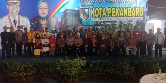 Pemda Pasaman Hadiri Pelantikan Komapas dan Himapasbar di Rumdin Walikota Pekanbaru