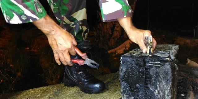 Warga Tebing Temukan Kotak Berisi Amunisi Caliber 7,62 mm Diduga Milik Pasukan Siliwangi