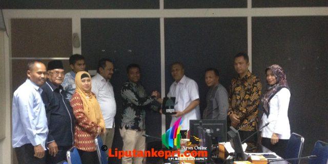 Pansus LKPJ DPRD Kepulauan Meranti kunjungi Bappeda Provinsi Riau