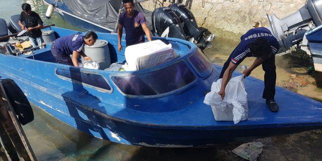 BC Kepri Kembali Amankan Speedboat Bermuatan Barang Ilegal Asal Batam