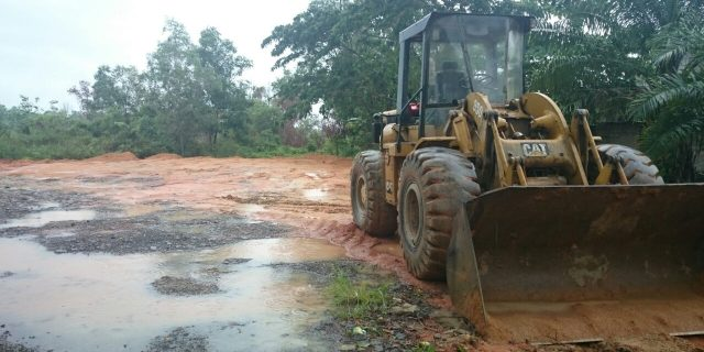 Dandim 0317/Tbt: Kita Targetkan Dalam Waktu Dekat Ini Pembangunan Lapangan Tembak Makodim Rampung