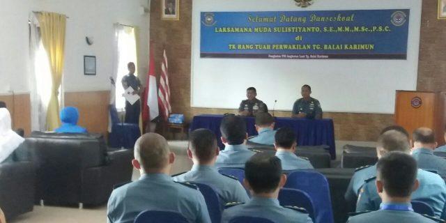 Komandan Seskoal Tinjau Pelaksanaan Forum Strategi II dan KKDN Para Pasis di Karimun