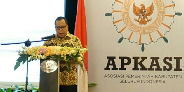 Ketua APKASI Bidang Keuangan Daerah Buka Acara APKASI Procurement Network 2018