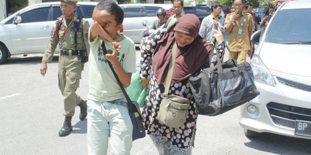 Gelar Razia Jelang Ramadhan, Tim Gabungan Jaring Puluhan Gepeng dan Anjal
