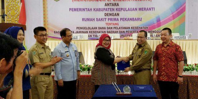 Pemda Meranti dan Kanwil Kemenkum HAM Riau Teken MoU Bidang Imigrasi, Peningkatan Layanan Warga Binaan dan Bantuan Hukum serta Kesempatan Pendidikan