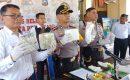 Polisi Amankan Sabu 8 Kg Dalam Ban Serap Fortuner