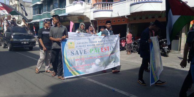 Tak Sampai Satu Hari, Aksi Solidaritas Untuk Palestina Di Kepulauan Meranti Berhasil terkumpul Rp. 22.582.700.