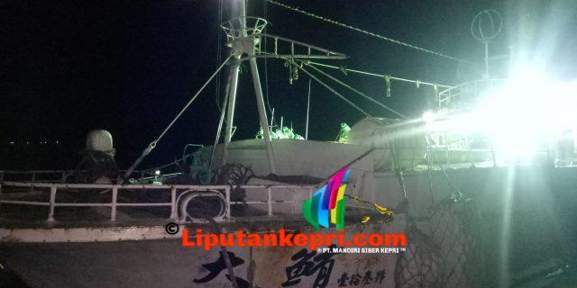 """Kapal Asing Berbendera Taiwan Masih Dalam Pemeriksaan """"Anjing Pelacak Akan Diterjunkan"""""""