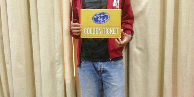 Andika Warga Kepulauan Meranti Raih Golden Tiket Indonesian Idol 2017