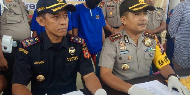 Bawa Shabu-shabu Penumpang Kapal Ferry Dumai Line Ditangkap