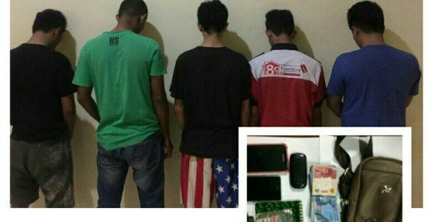 Diduga Melakukan Transaksi Narkoba, Mantan Anggota Polisi Ditangkap di Parkiran Hotel Aston Karimun