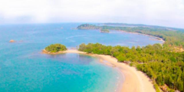 Pantai Wisata Bintan Di Cemari Limbah Oli